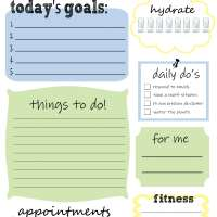 Free Printable - Daily To Do List