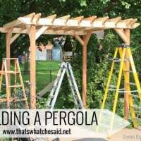 The Pergola Project: Building a Pergola #DigIn