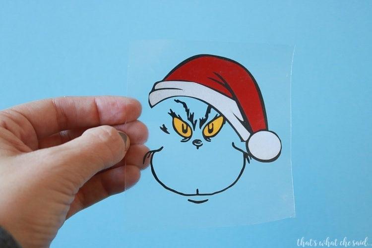 Grinch Ornament Free SVG - That\u0027s What {Che} Said