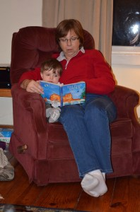 reading with gramma