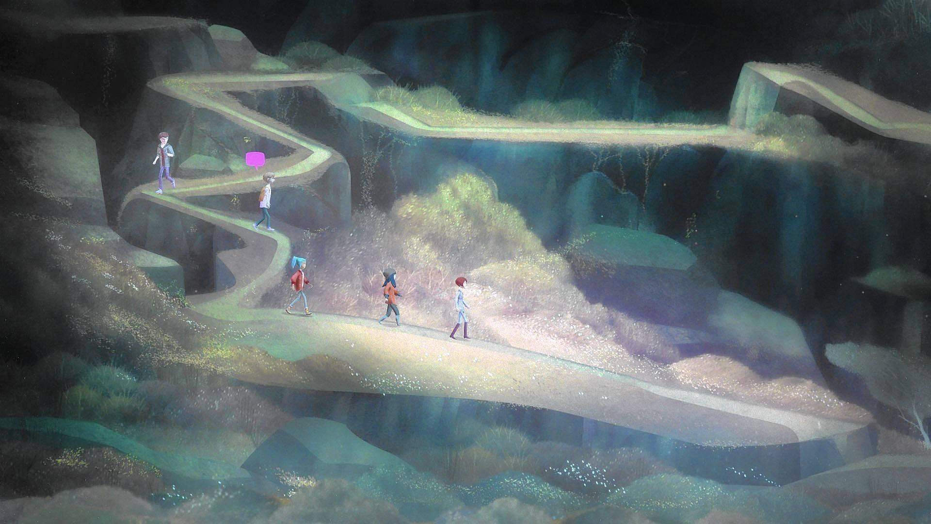 Wallpaper Supernatural 3d Review Oxenfree Pc That Videogame Blog