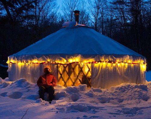 How Much Snow Can a Yurt Roof Support?