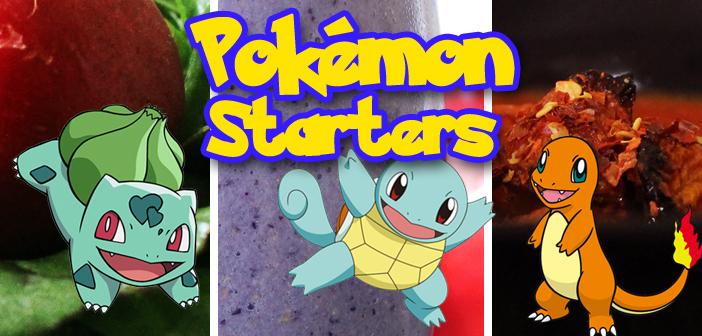 Geek N' Bake: Pokemon Starters