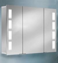 Aluminum Back Lit Bathroom Cabinets