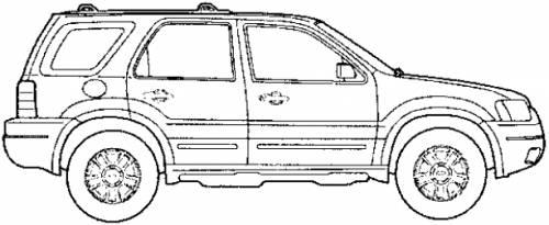 2007 ford escape ledningsdiagram