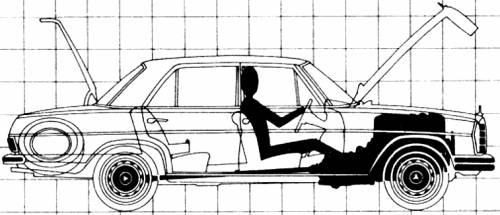1970 mercedes benz 280se