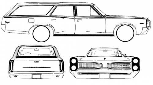 1961 pontiac catalina safari wagon