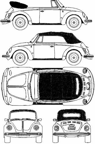 1975 volkswagen beetle Schaltplang free download