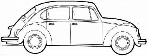 del Schaltplan beetle 1973