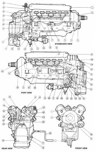 rolls royce merlin engine diagram