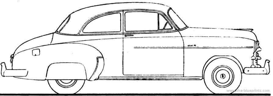 1950 chevy 2 door sedan for sale