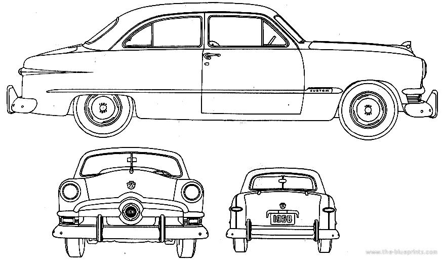1950 ford deluxe tudor