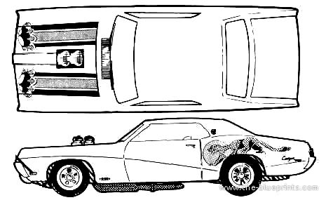 1968 mercury cougar ledningsdiagram
