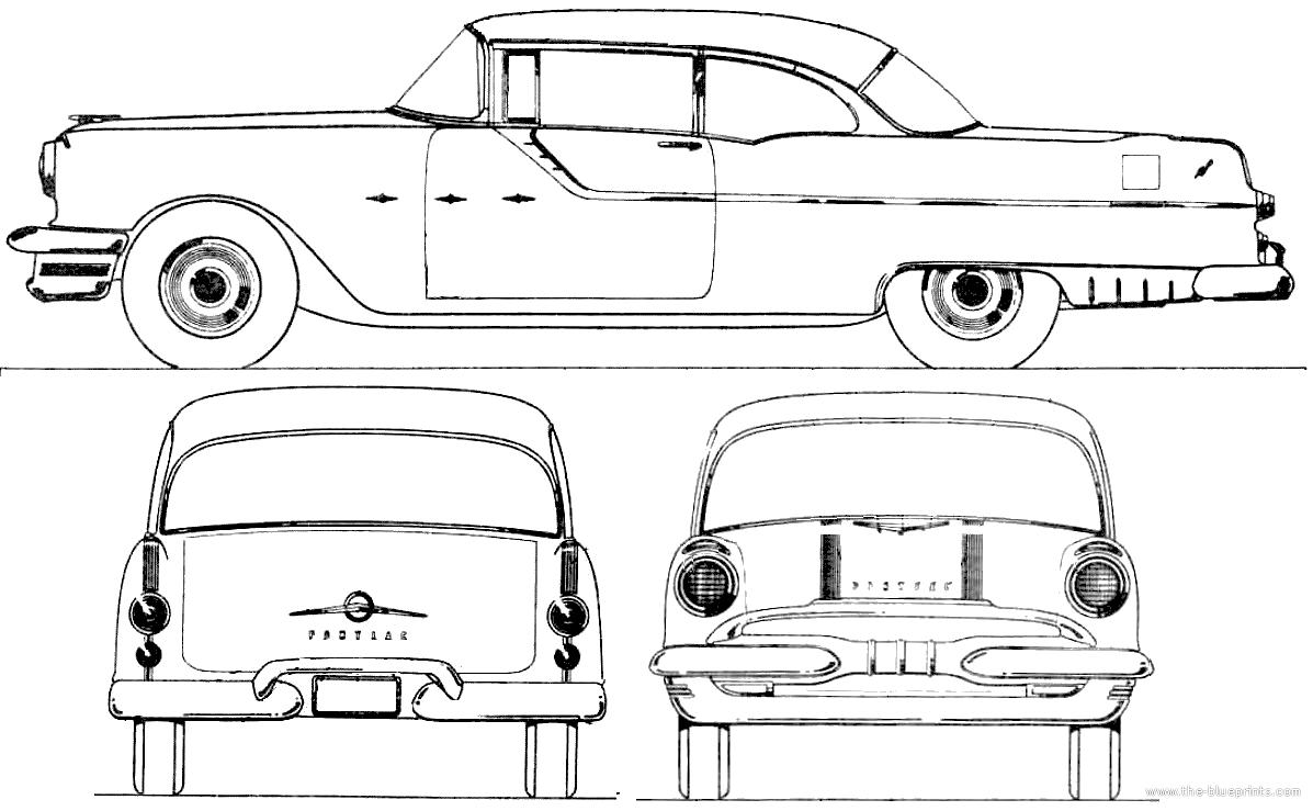 1952 pontiac chieftain 2 door hardtop