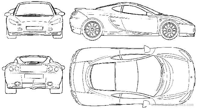Ascari Cars ledningsdiagram
