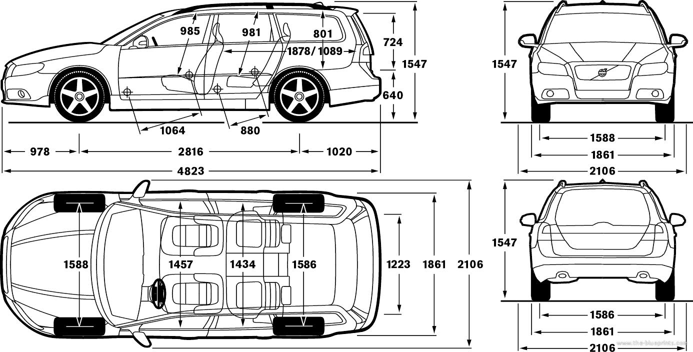 2006 volvo xc90 Motor diagram