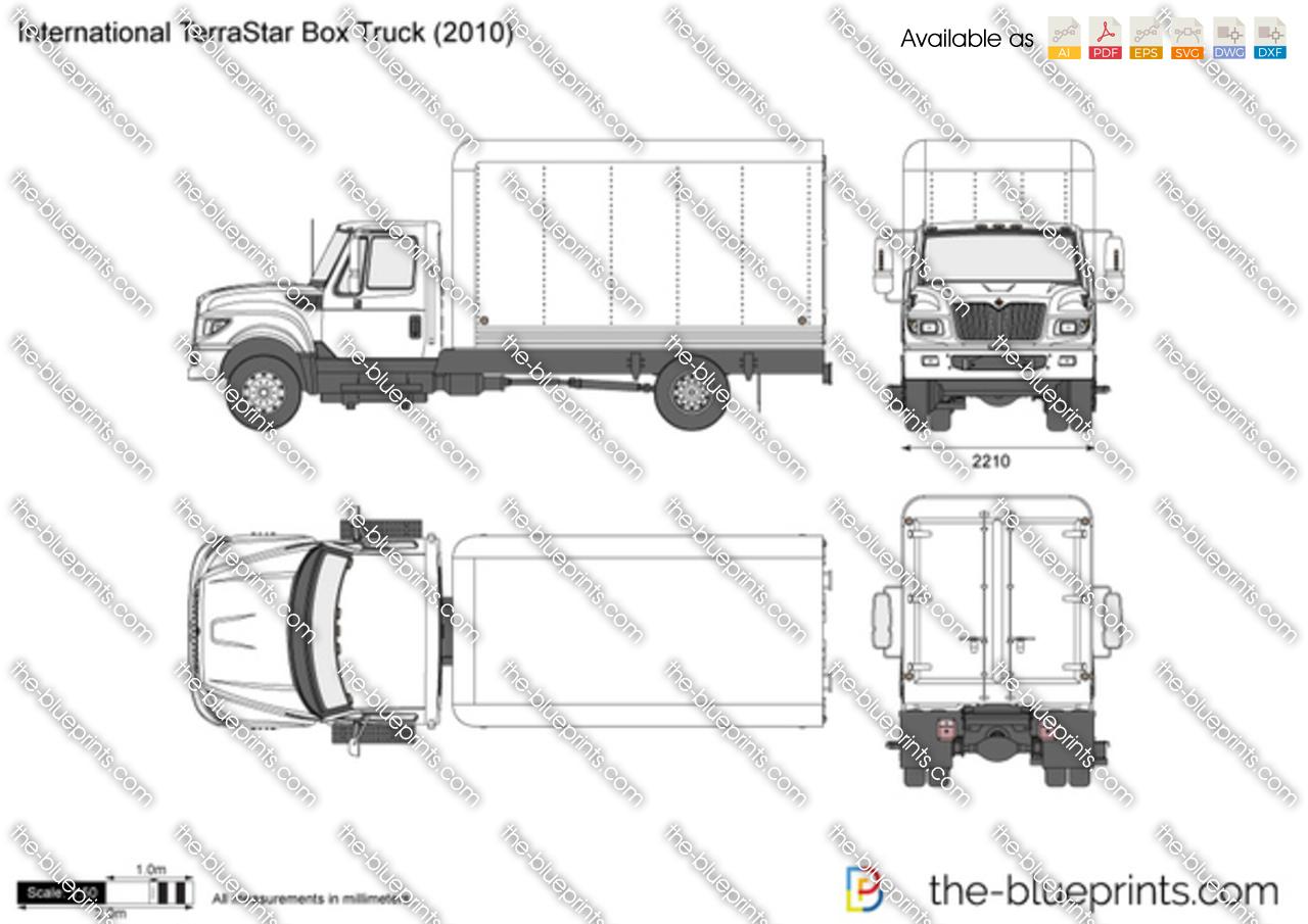 box truck damage diagram