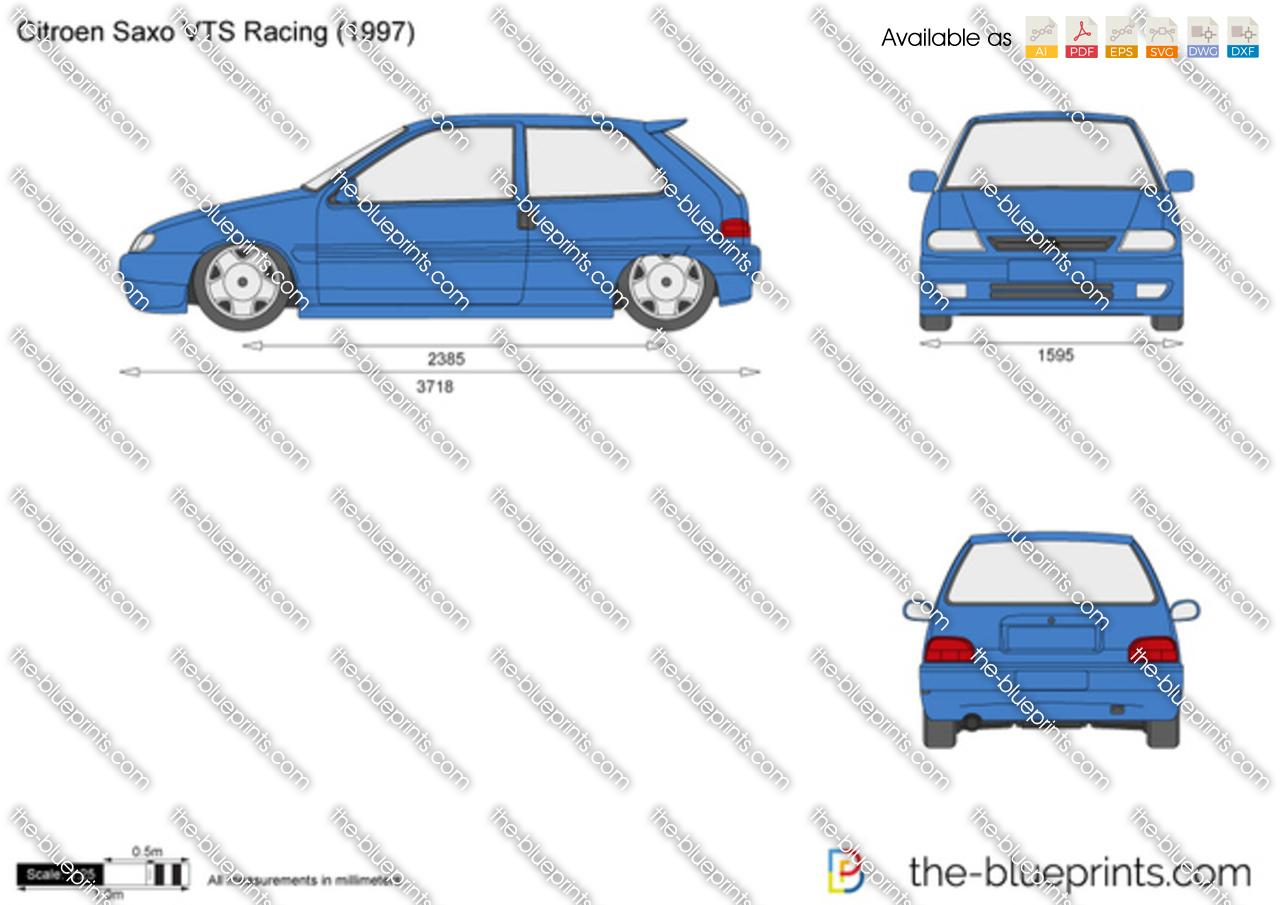 3d Golf Wallpaper For The Home Citroen Saxo Vts Racing Vector Drawing