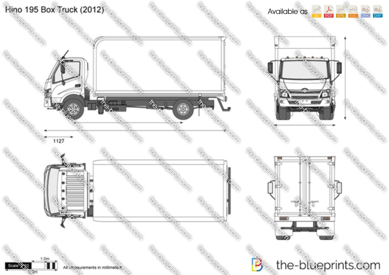 fuse box diagram hino truck
