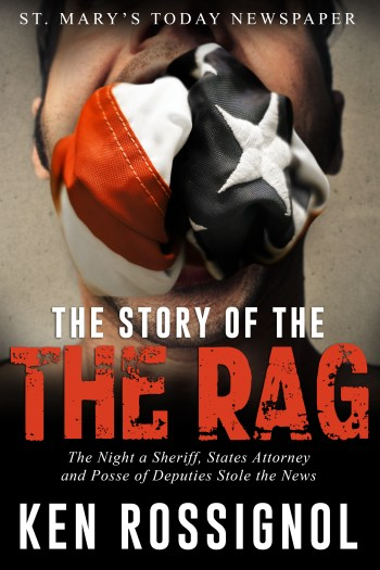 The Story of THE RAG, available in Kindle, paperback and Audible editions