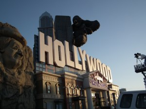 The Hollywood Wax Museum is on 'The Strip' in Branson, Missouri. The resort is where much of middle America vacations with water sports, great shows and other attractions, all supported by a large hospitality industry. FBI says many workers  are illegal aliens. THE CHESAPEAKE TODAY photos