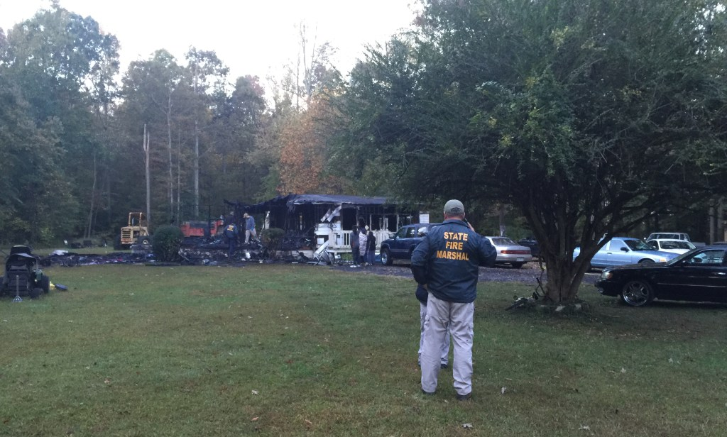 Fatal Fire near Waldorf killed grandmother Bernice Washington and grandchild. Extension  cord blamed. Photo from  WTOP