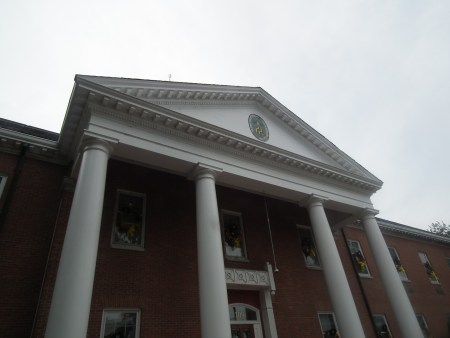 Caroline County Circuit Courthouse in Denton, Md. THE CHESAPEAKE TODAY photo