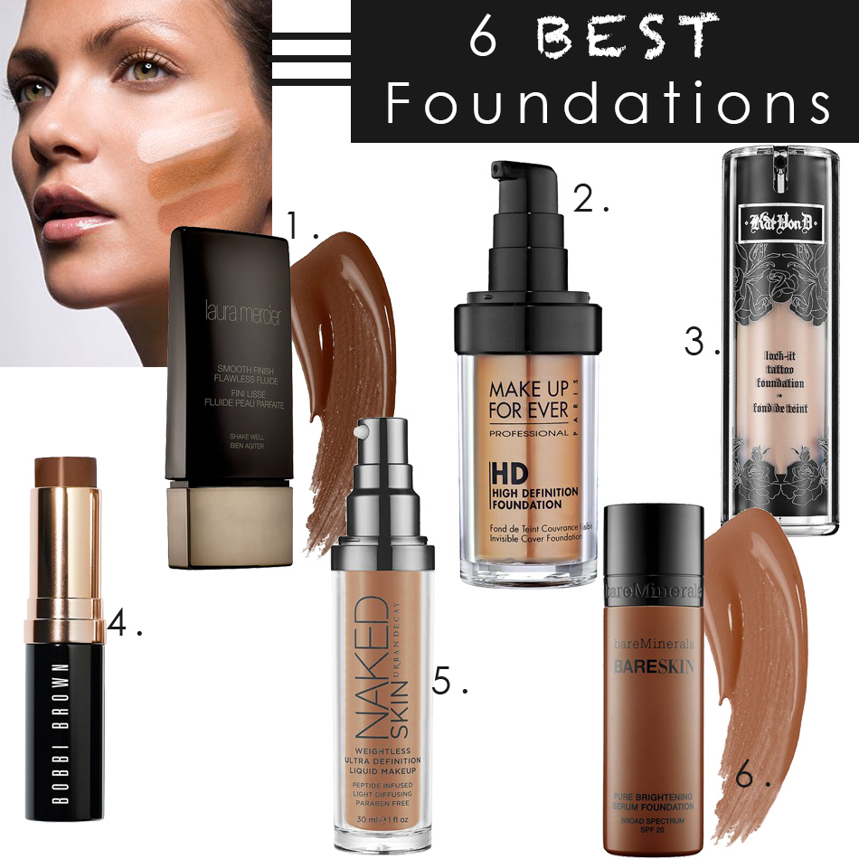 The 6 Best Foundations You Must Try