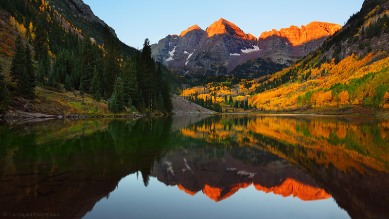 Fall Pictures Wallpaper Colorado Gold Maroon Bells Scenic Area