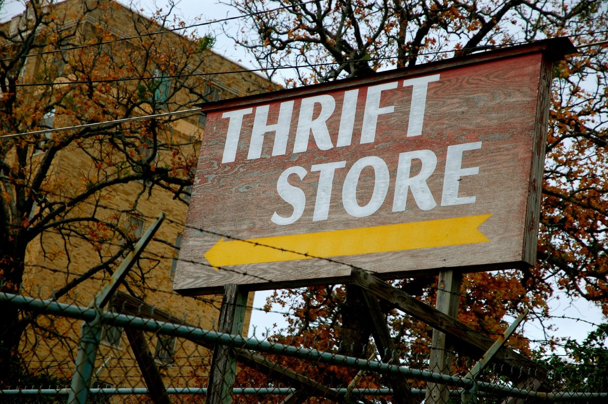 6 Things You Should Buy At A Thrift Store