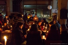Carols by candlelight in The Dock Cafe