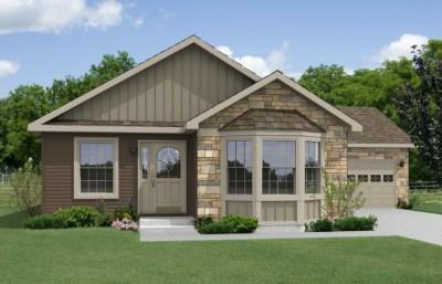 Evanston Modular Home Floor Plan