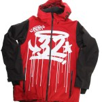 Thirtytwo x DGK Shiloh Jacket Front (Red)