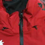 Thirtytwo x DGK Shiloh Jacket Front Zip & Hood Drawstrings (Red)