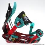 Flow M9-SE Snowboard Bindings - Lateral