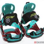 Flow M9-SE Snowboard Bindings - Pair Front