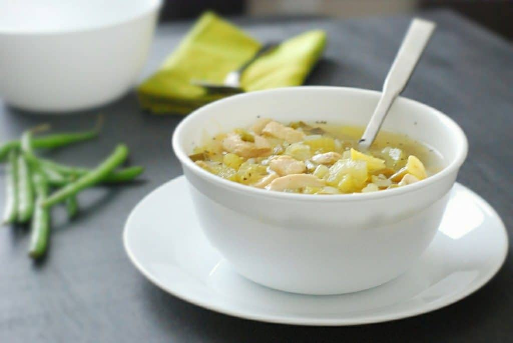 Chicken Soup - a tasty, hearty and comforting without all the guilt.