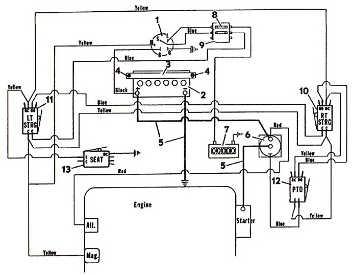 Toro Zero Turn Wiring Diagram Electronic Schematics collections