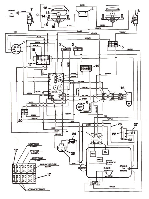 wiring diagram for push pull switch