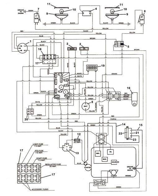 briggs stratton switch wiring diagram