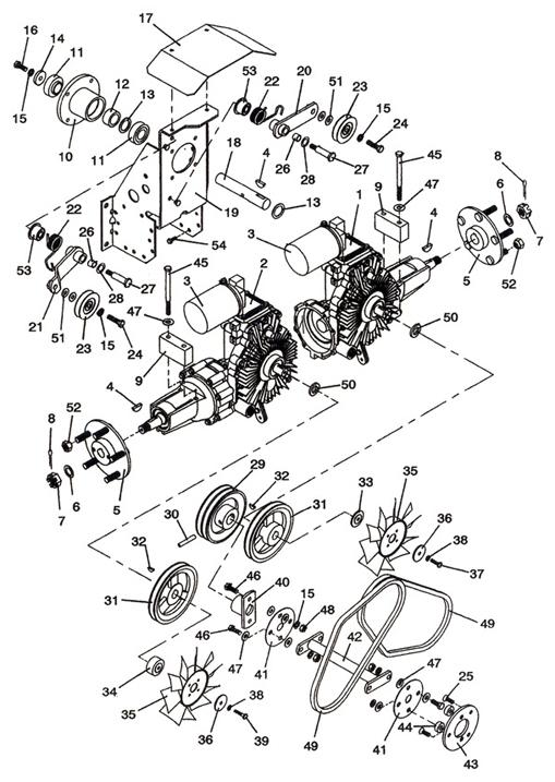 ford 5 4 3v engine diagram