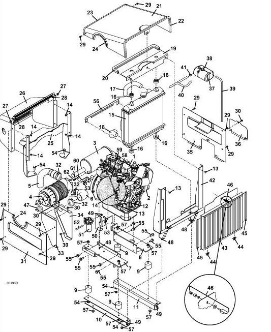 kubota diesel engine parts diagram heavy