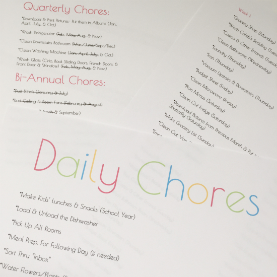 Cleaning Tip Tuesday Creating A Cleaning Schedule That Works For