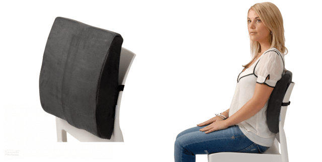 Back Support Seat Cushion Chair Lumbar Support