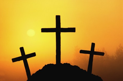 Three Crosses Free Easter Crafts To Make