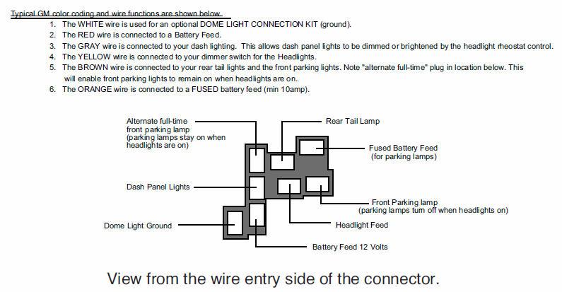Gm Headlight Switch Wiring - Wiring Diagrams Clicks