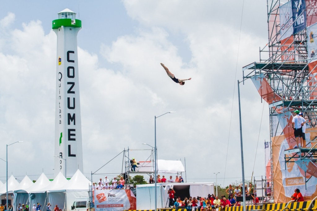 Fina High Diving World Cup Cozumel