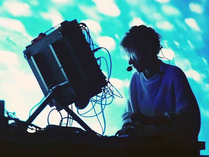Kaitlyn Aurelia Smith synth Comunite 2018