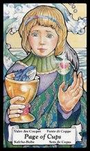 betekenis tarotkaart Bekers Schildknaap