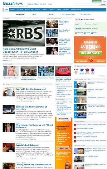 newspaper template wordpress - Alannoscrapleftbehind - online newspaper template